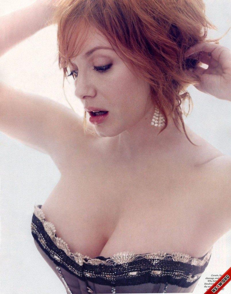 Кристина Хендрикс - американская актриса (32 фото)
