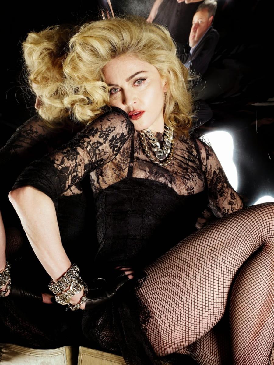Мадонна эротическое фото