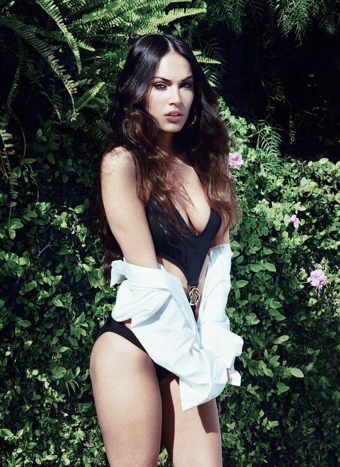 Сексуальная Меган Фокс- актриса и фотомодель (29 фото)