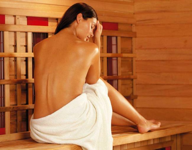 сауна голые девушки фото спины и ступни