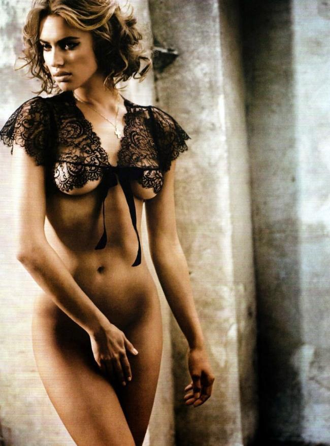 Ирина Шейк голая.