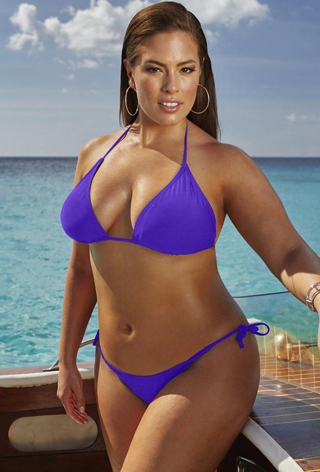 Очень красивый купальник бикини ярко сиреневый цвет ультра.